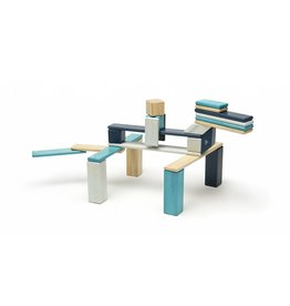 Tegu 24-Piece Set - Blues