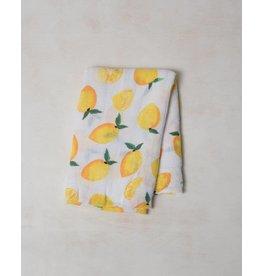 Little Unicorn Swaddle Blanket - Lemon