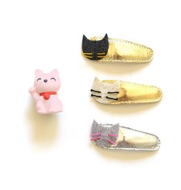 Hello Shiso Kitty Clips -