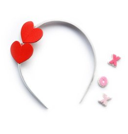 Hello Shiso Heart Headband