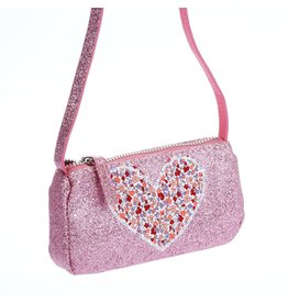 Peppercorn Kids Heart Glitter Purse