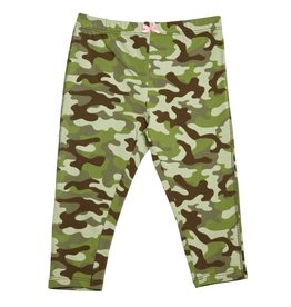 Pink Chicken Camo Capri Legging