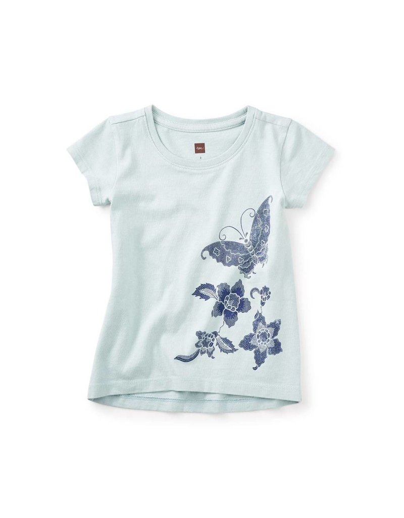 Tea Collection Bali Butterfly Graphic Tee