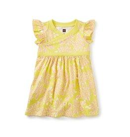 Tea Collection Sadie Wrap Neck Baby Dress