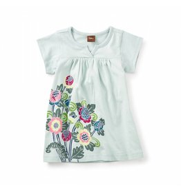 Tea Collection Begonia Notch Baby Dress