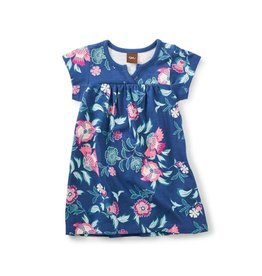Tea Collection Kyoto Blooms Notch Baby Dress