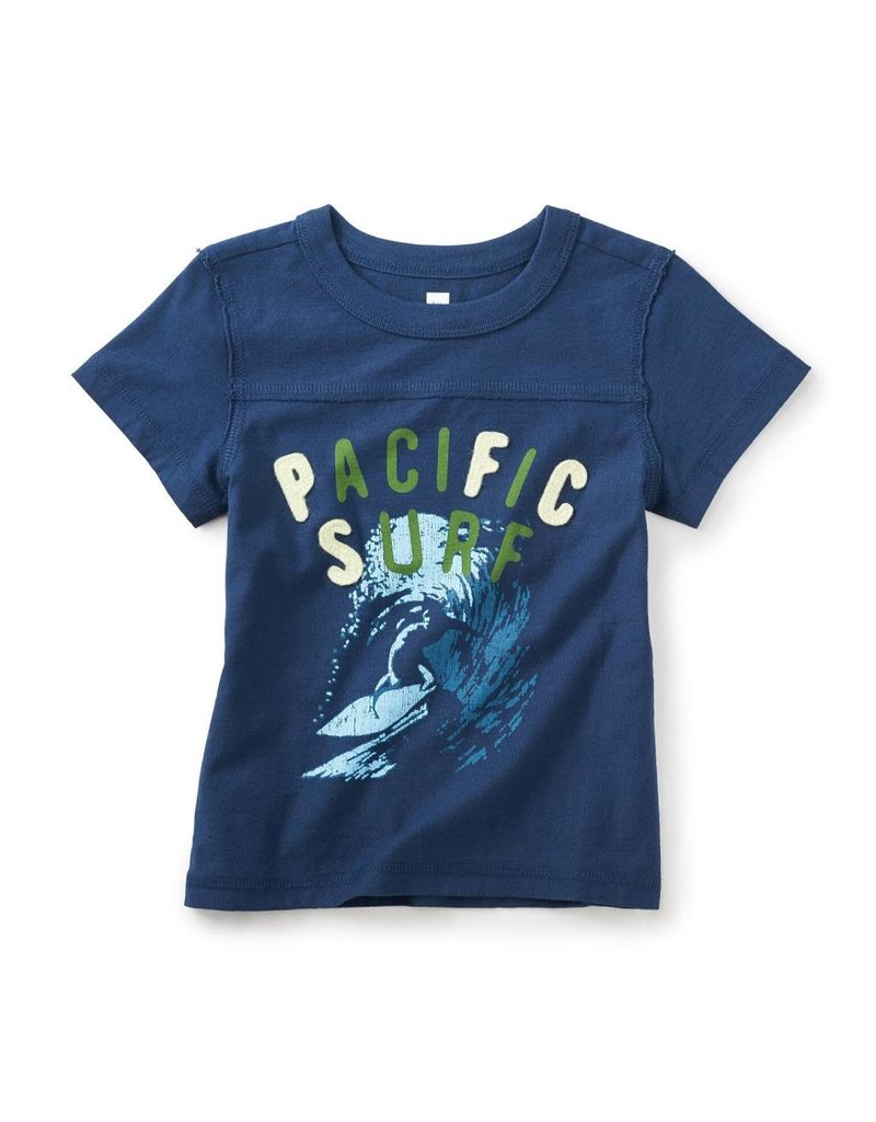 Tea Collection Pacific Surf Graphic Tee