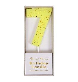 Meri Meri Number Candle: 7