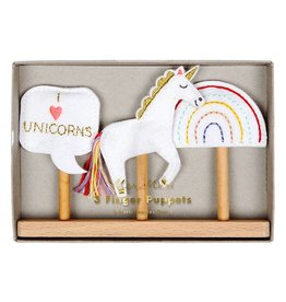 Meri Meri Finger Puppets- Unicorn