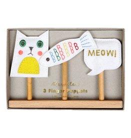 Meri Meri Finger Puppets- Cat