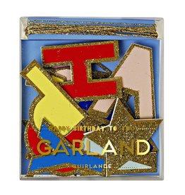 Meri Meri Mini Garland - Happy Birthday