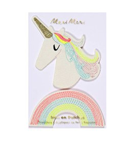 Meri Meri Iron On Patches- Unicorn