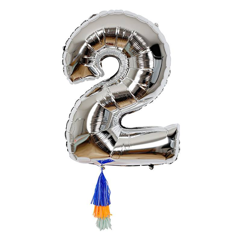 Meri Meri Number Balloon: 2