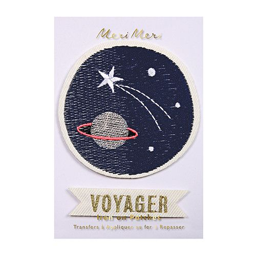 Meri Meri Iron On Patches- Space Voyager