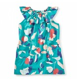 Tea Collection Evie Ruffle Neck Dress