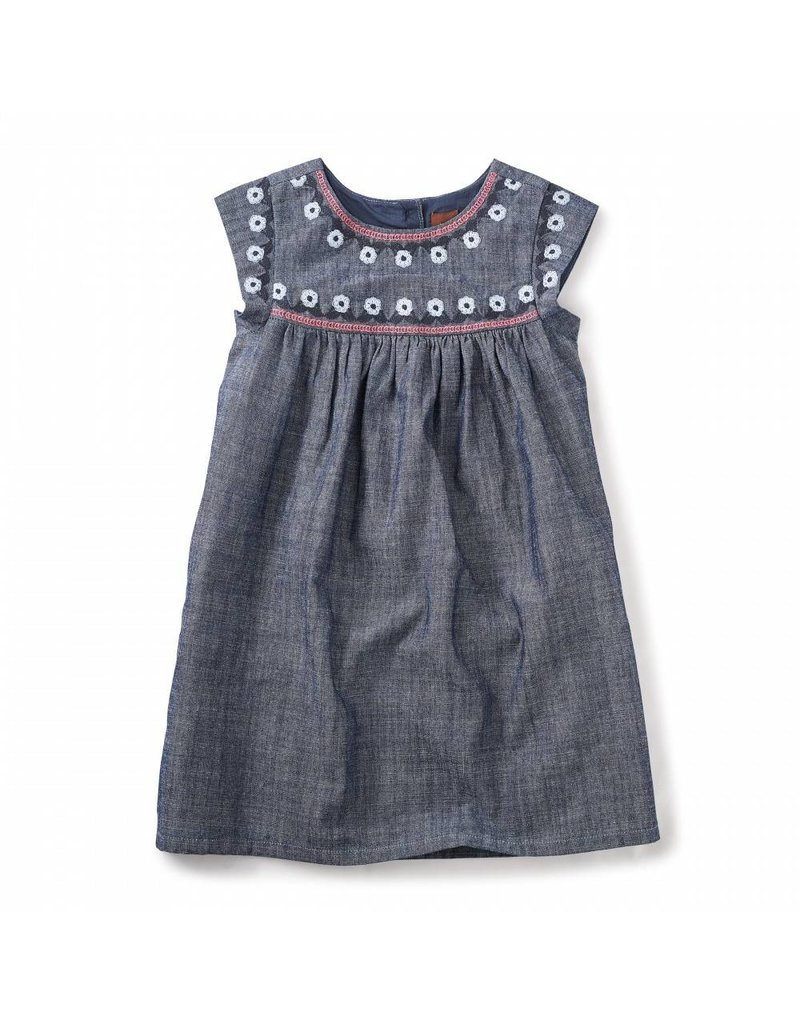 Tea Collection Fig Street Chambray Dress