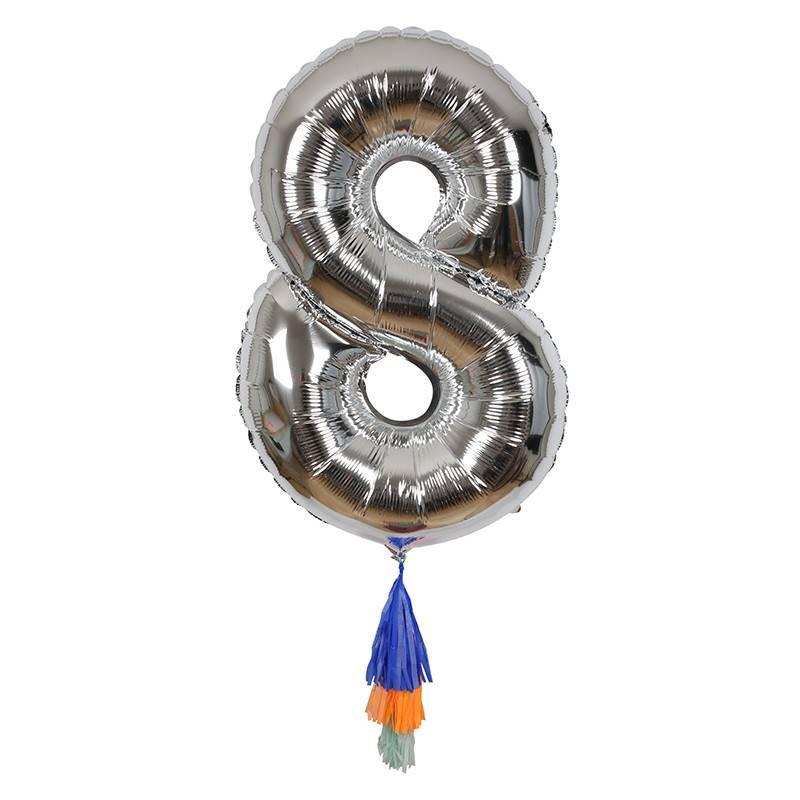Meri Meri Number Balloon: 8