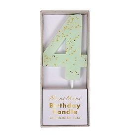 Meri Meri Number Candle: 4