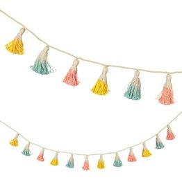 Meri Meri Dip Dyed Tassel Garland