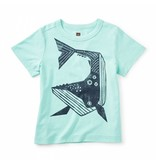 Tea Collection Whale Then Graphic Tee