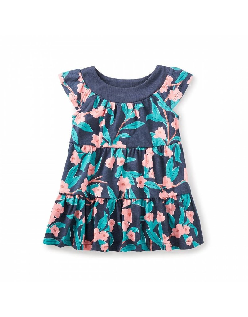 Tea Collection Bloomin' Twirl Baby Dress