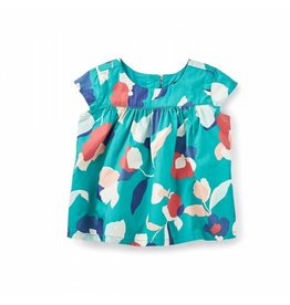 Tea Collection Evie Cap Sleeve Baby Top