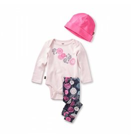 Tea Collection Puff Baby Outfit