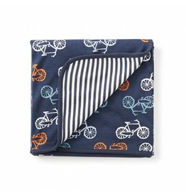 Tea Collection Cycle Reversible Blanket