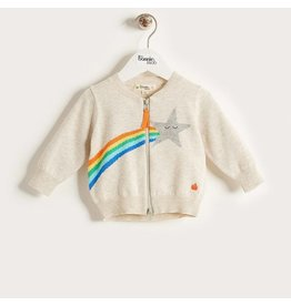 Bonnie Mob Shooting Star Rainbow Cardigan
