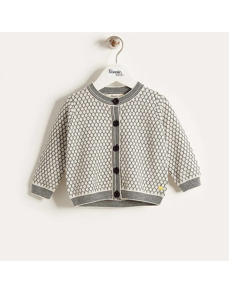 Bonnie Mob Honeycomb Cardigan