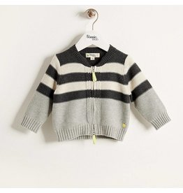 Bonnie Mob Placed Stripe Cardigan