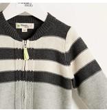 Bonnie Mob Placed Stripe Cardigan
