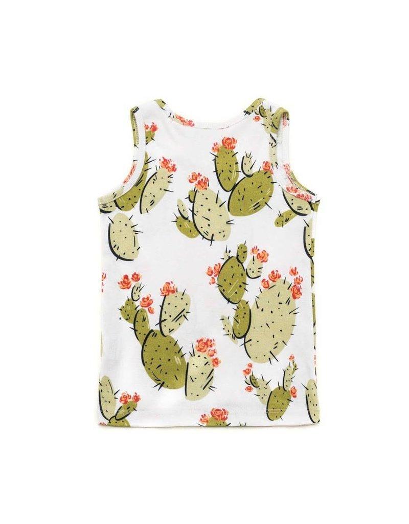 Izzy & Ferd Cactus Baby Tank