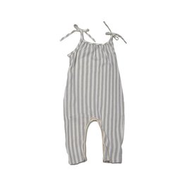 Go Gently Nation Vertical Stripe Jumpsuit