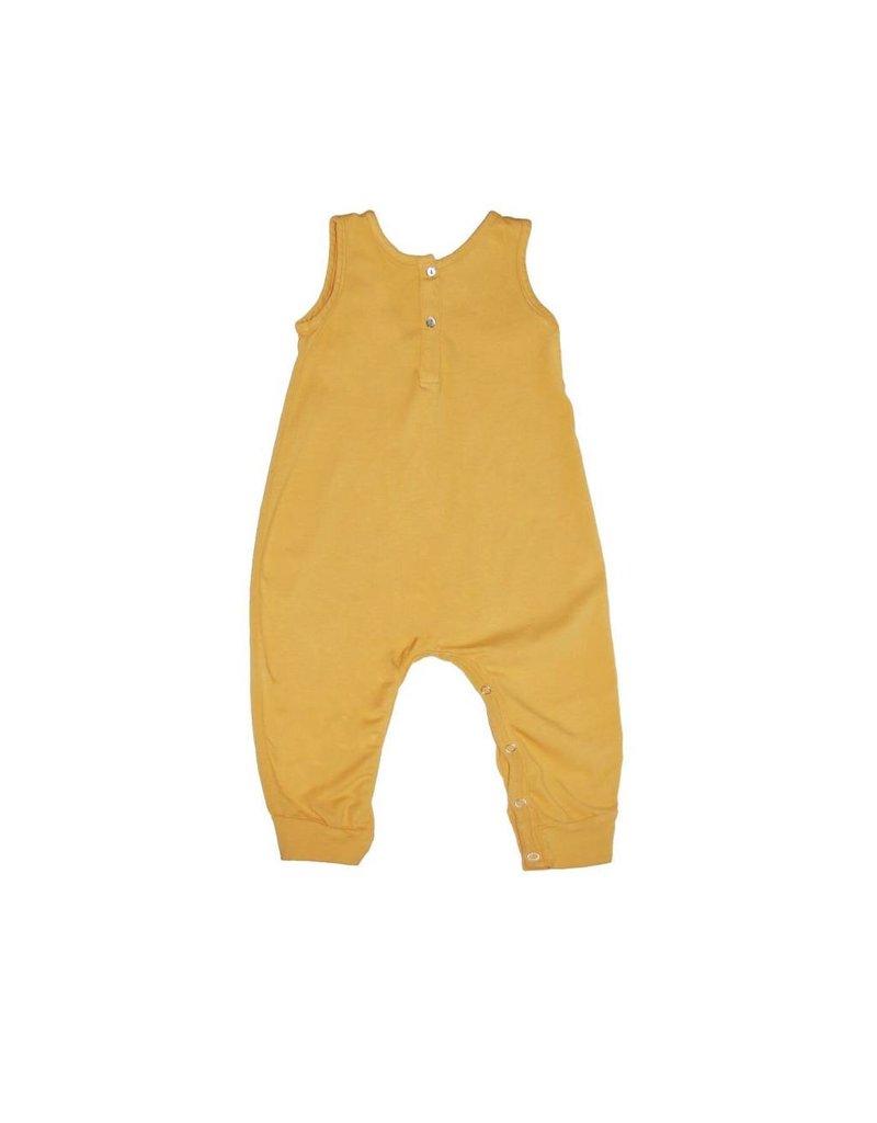 Go Gently Nation Henley Golden Jumpsuit