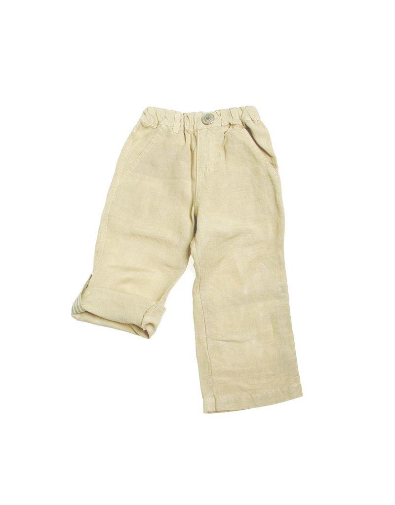 Bitz Kids Linen Roll Up Pant