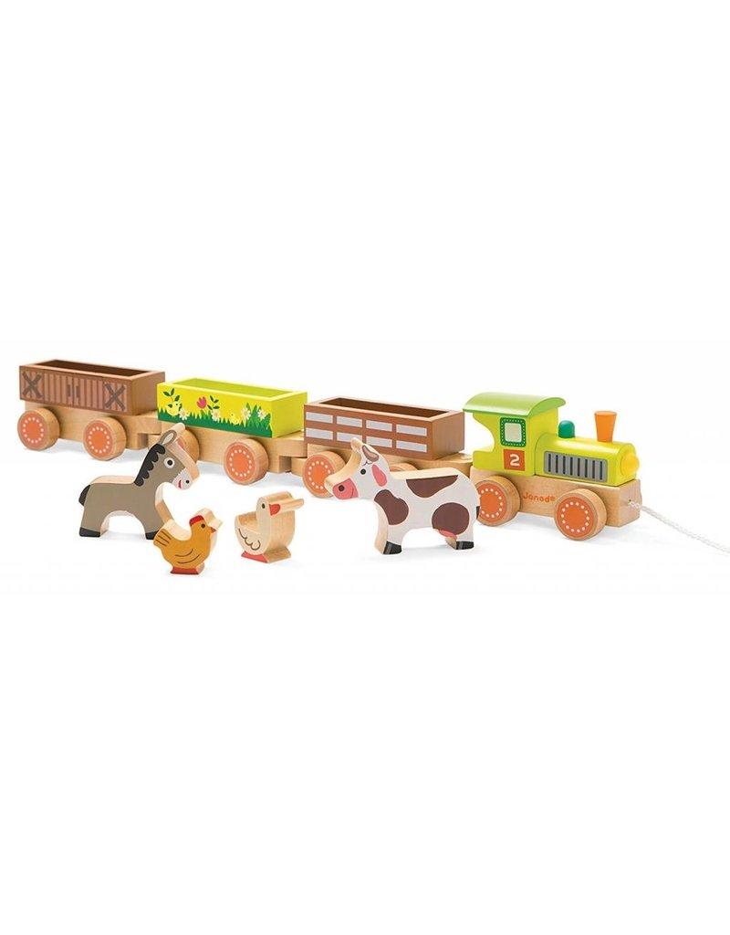 Juratoys Story - Baby Barnyard Train