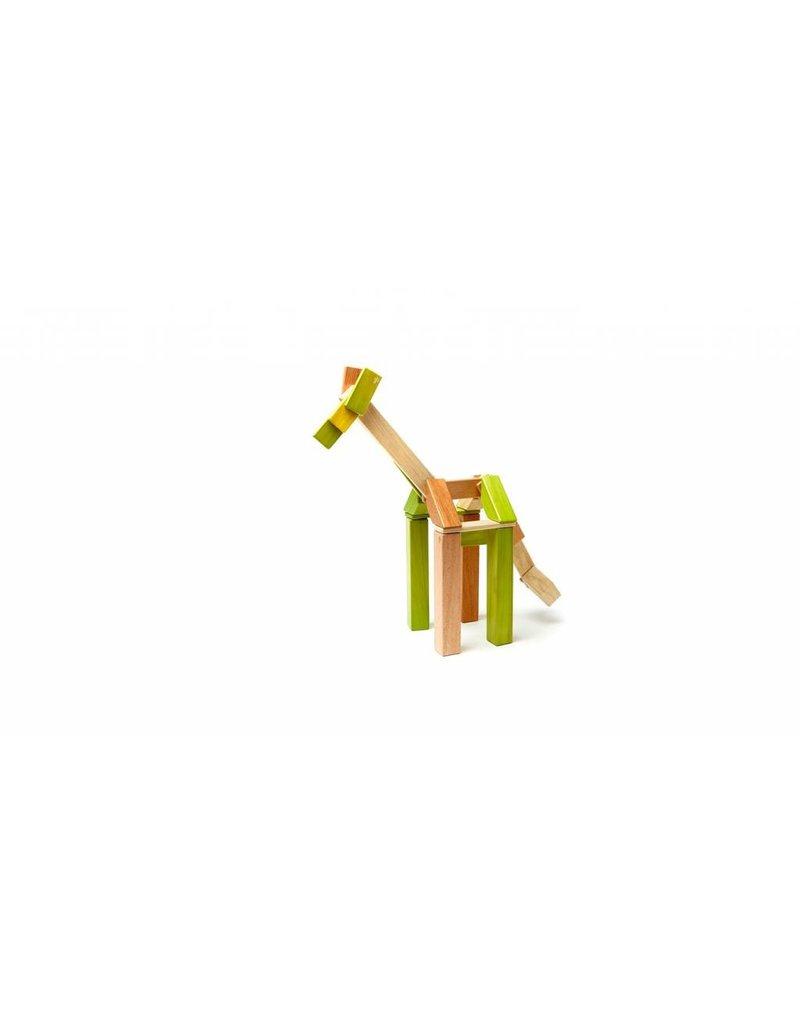 42-Piece Magnetic Block Set - Jungle