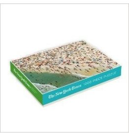 Chronicle Books New York Times Beach Puzzle  1000 pc