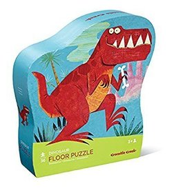 Crocodile Creek 36 pc Shaped Puzzle- Dinosaur
