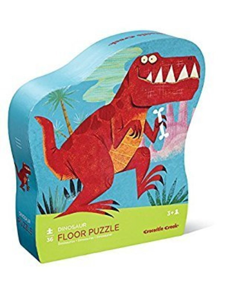 Crocodile Creek 36 pc Puzzle - Dinosaur