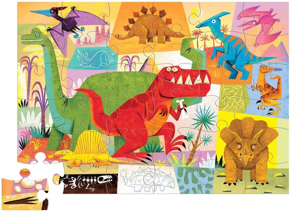 Crocodile Creek 36 pc Puzzle - Dinosaur
