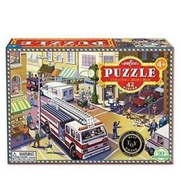 eeBoo Fire Truck Puzzle 42 pc
