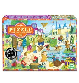 eeBoo Mystery in Forest Puzzle  42 pc