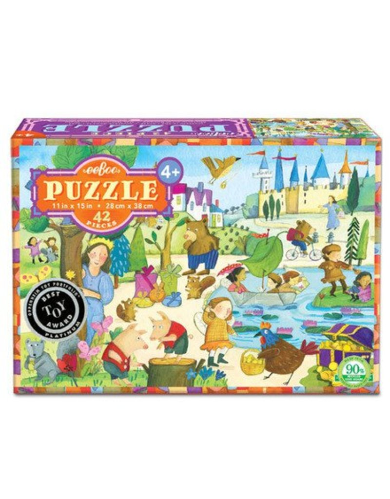 eeBoo Mystery in Forest Puzzle - 42 Pcs