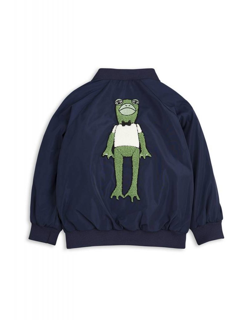 Mini Rodini Frog Baseball Jacket