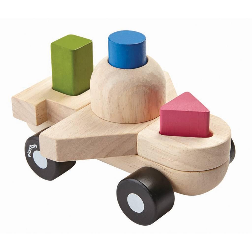 Plan Toys Sorting Puzzle Plane