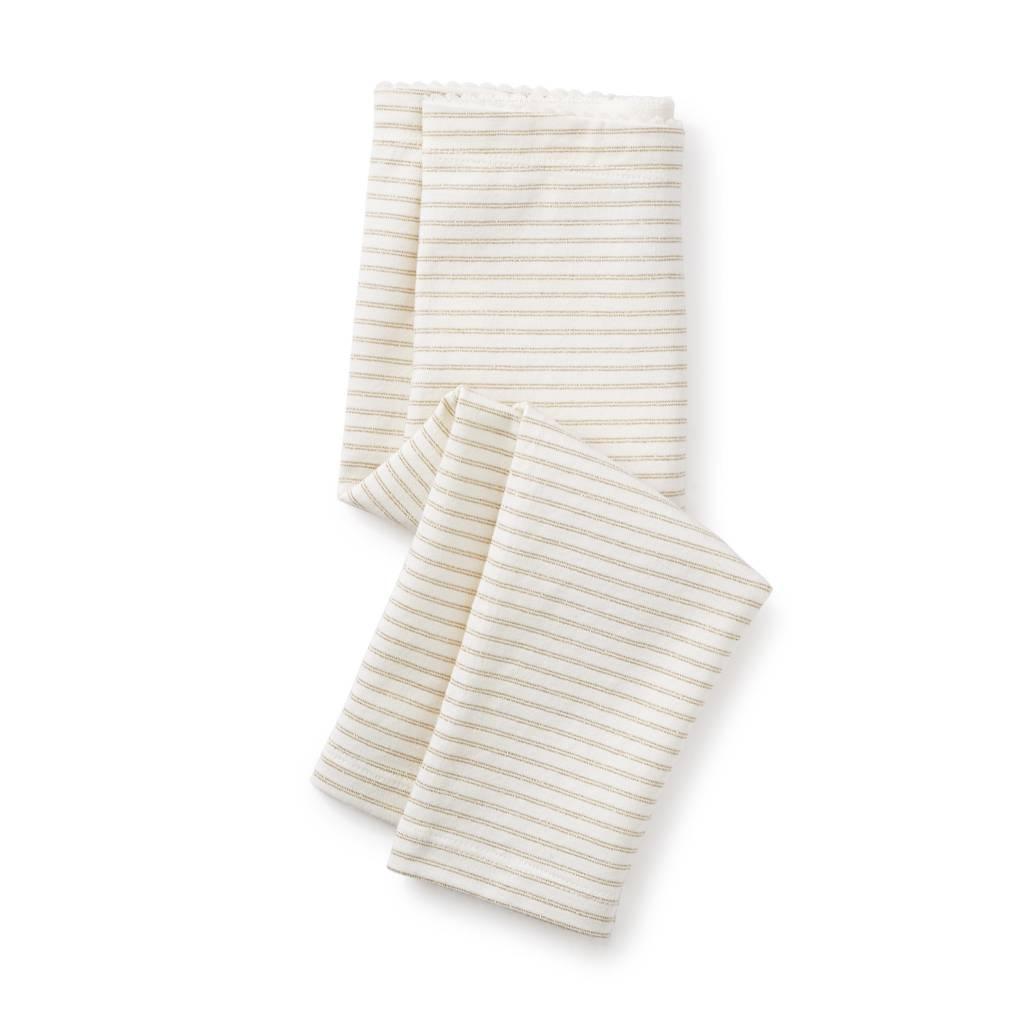 Tea Collection Sparkle Stripe Leggings