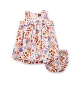 Tea Collection Kantju Hi-Lo Baby Dress