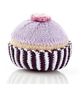 Pebble Cupcake Rattle